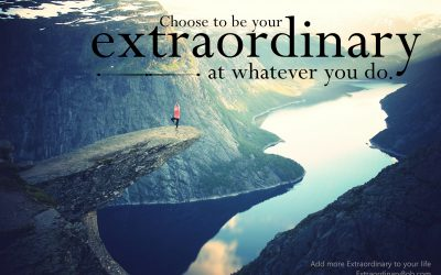 Teach your children to be Extraordinary!