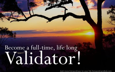 "Bob Koehler talks about ""Be a full-time, life-long Validator!"""