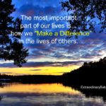 """Making a Difference"" is Contagious"